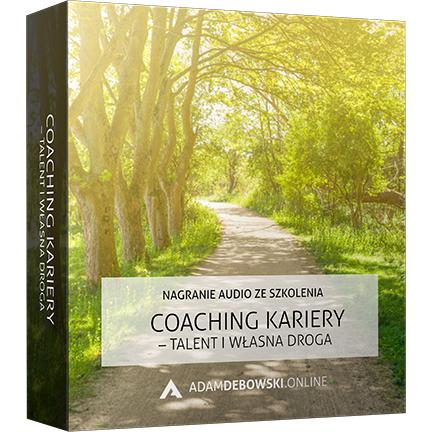 Coaching Kariery - talent i własna droga